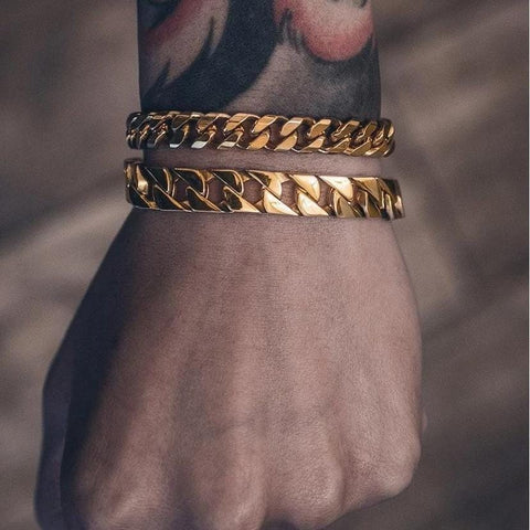 Mister Curve Curb Bracelet - Gold - Mister SFC - Fashion Jewelry - Fashion Accessories