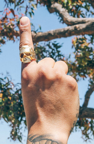 *Mister  Dead Serious Ring - Gold - Mister SFC - Fashion Jewelry - Fashion Accessories