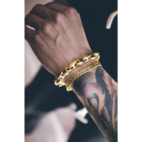 Mister Esquire Bracelet - Gold - Mister SFC - Fashion Jewelry - Fashion Accessories
