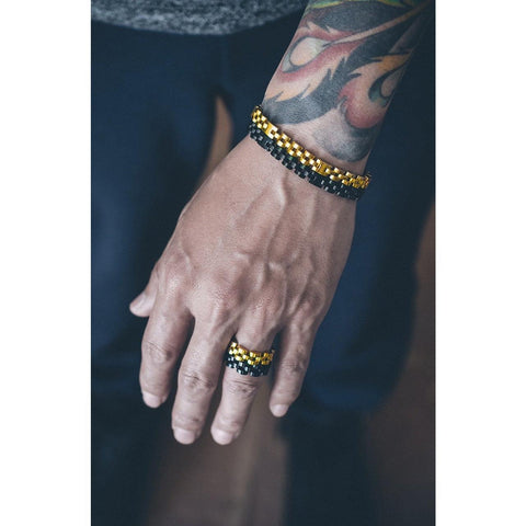 Mister  Fame Ring - Black - Mister SFC - Fashion Jewelry - Fashion Accessories