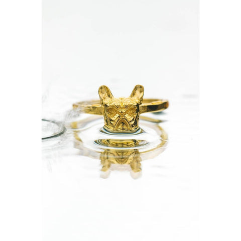 *Mister Frenchie Ring - Gold - Mister SFC - Fashion Jewelry - Fashion Accessories