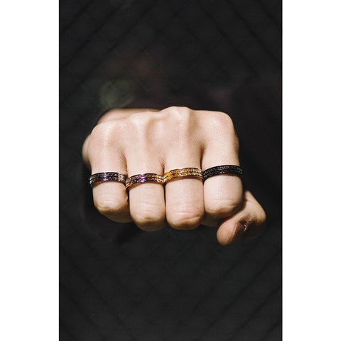 Mister  Omega Ring - Black - Mister SFC - Fashion Jewelry - Fashion Accessories
