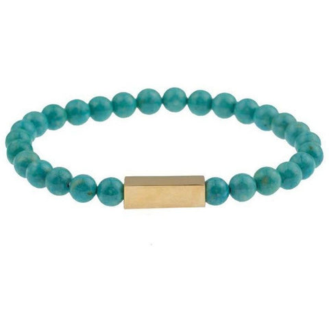 Mister Prime Bead Bracelet - Turquoise - Mister SFC - Fashion Jewelry - Fashion Accessories