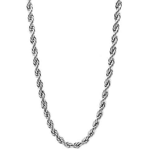 Mister Rope Necklace - Chrome - Mister SFC - Fashion Jewelry - Fashion Accessories