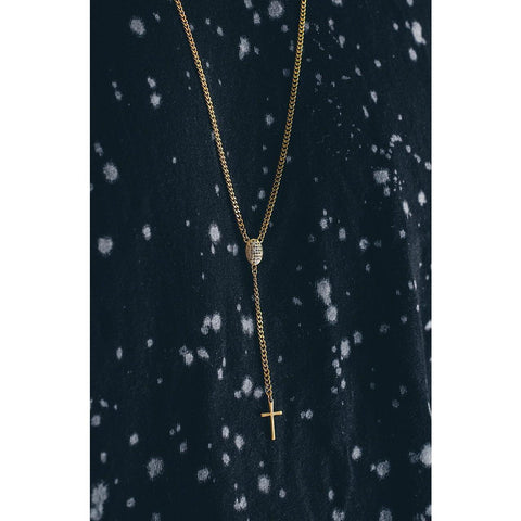 *Mister Rosary Plus Necklace - Gold - Mister SFC - Fashion Jewelry - Fashion Accessories