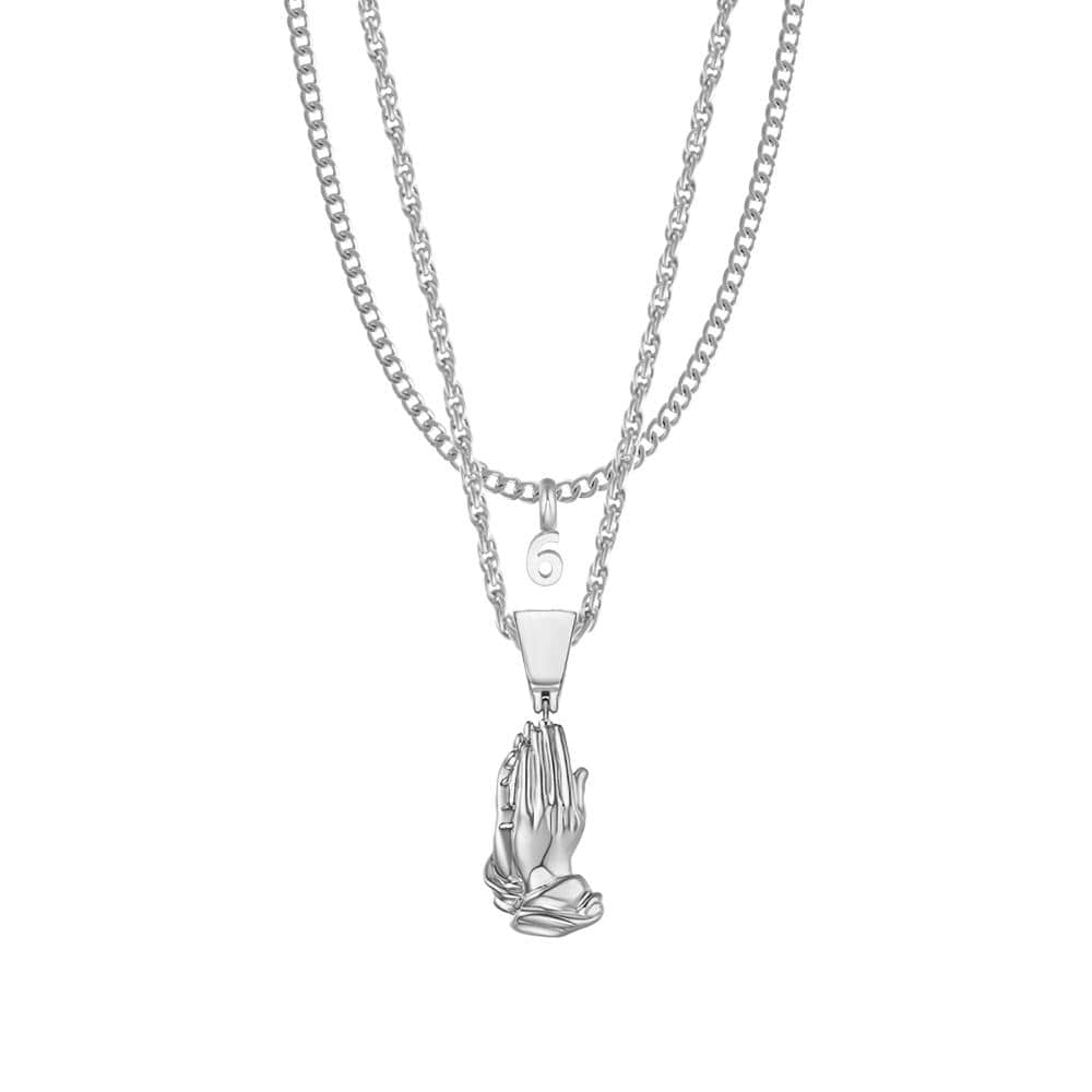Mister Pray Necklace - Mister SFC - Fashion Jewelry - Fashion Accessories