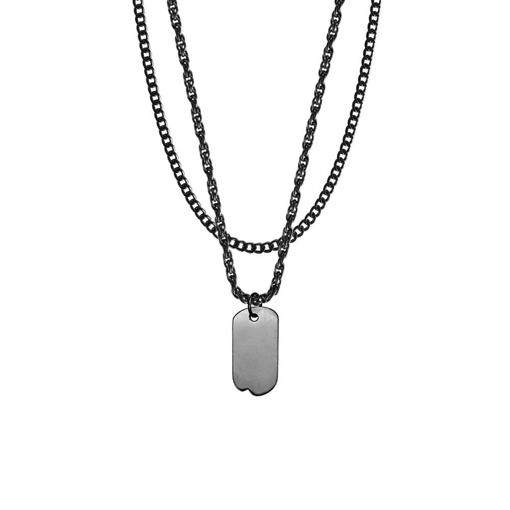 Mister Micro Tag Necklace - Mister SFC - Fashion Jewelry - Fashion Accessories