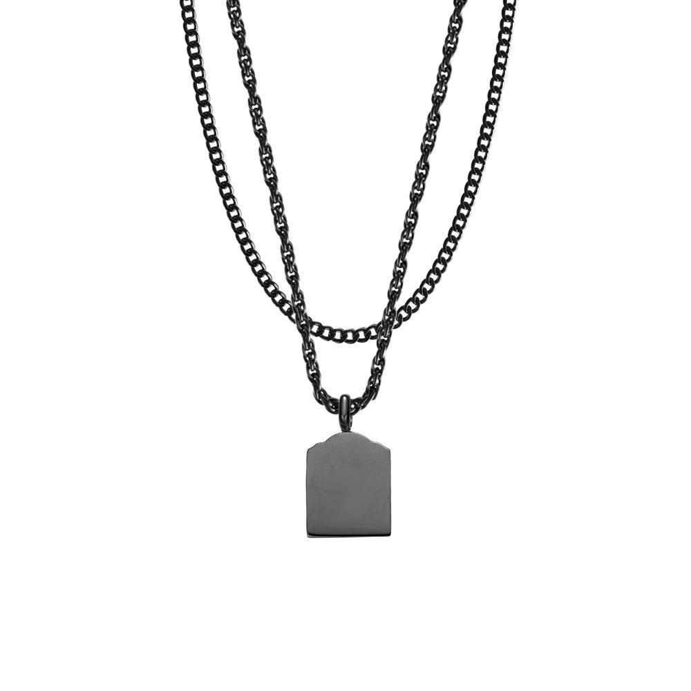 Mister Micro Tomb Necklace - Mister SFC - Fashion Jewelry - Fashion Accessories