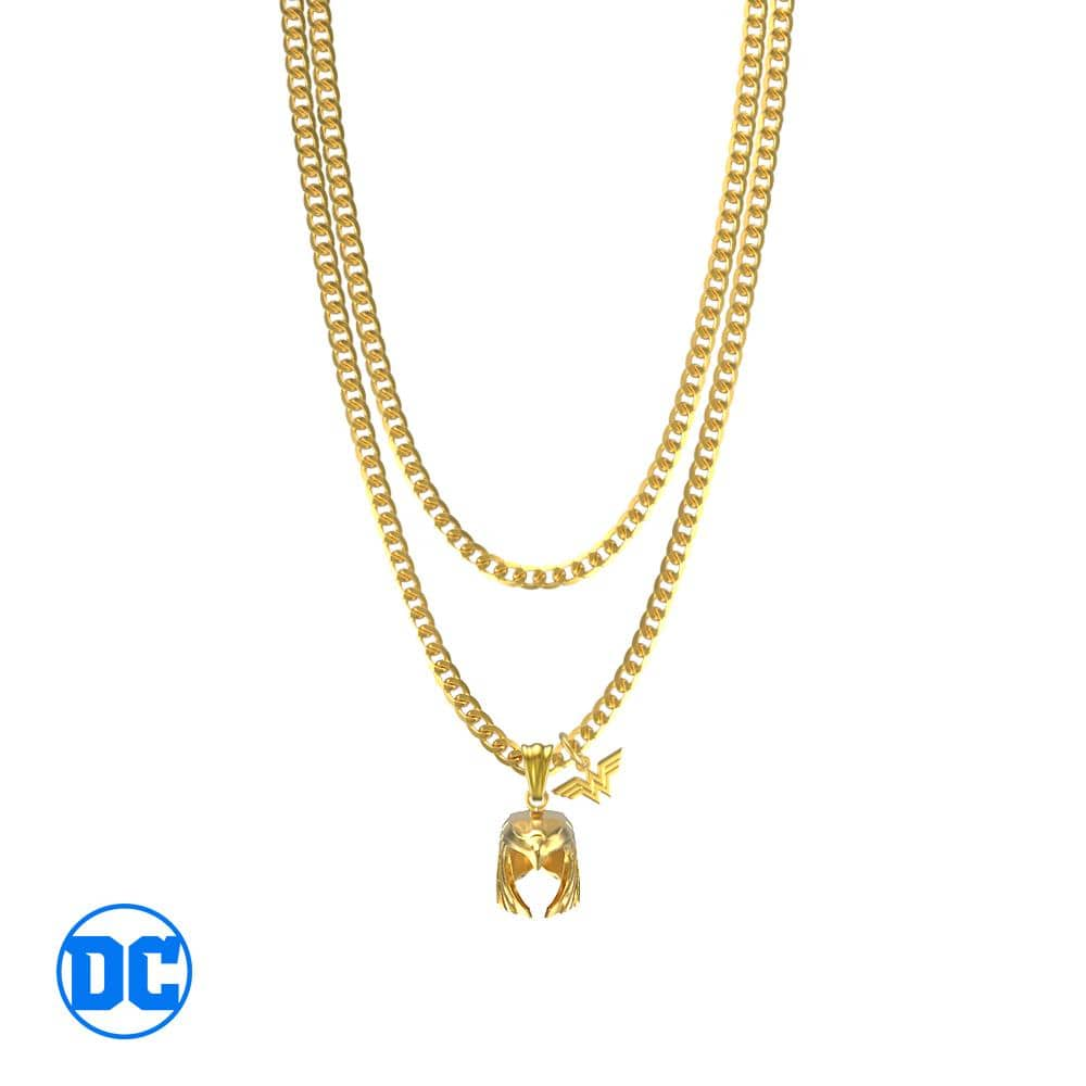 Wonder Woman™ Golden Armor Necklace V2