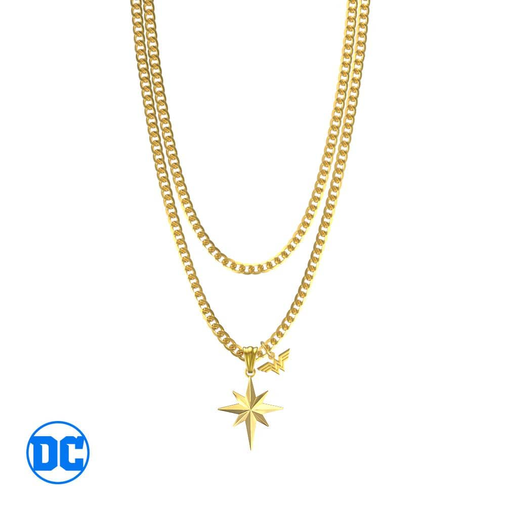 Wonder Woman™ Gold Star Necklace V2