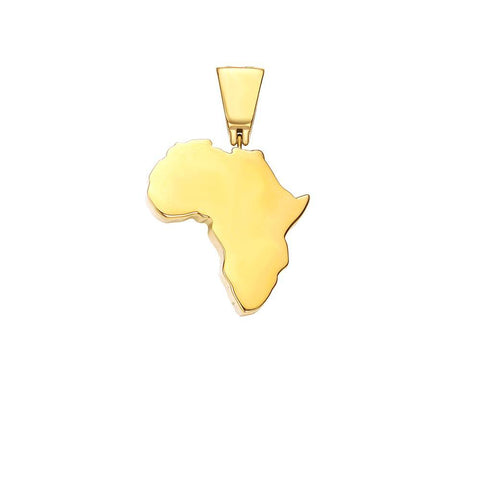 Mister Continent Africa Pendant - Mister SFC - Fashion Jewelry - Fashion Accessories