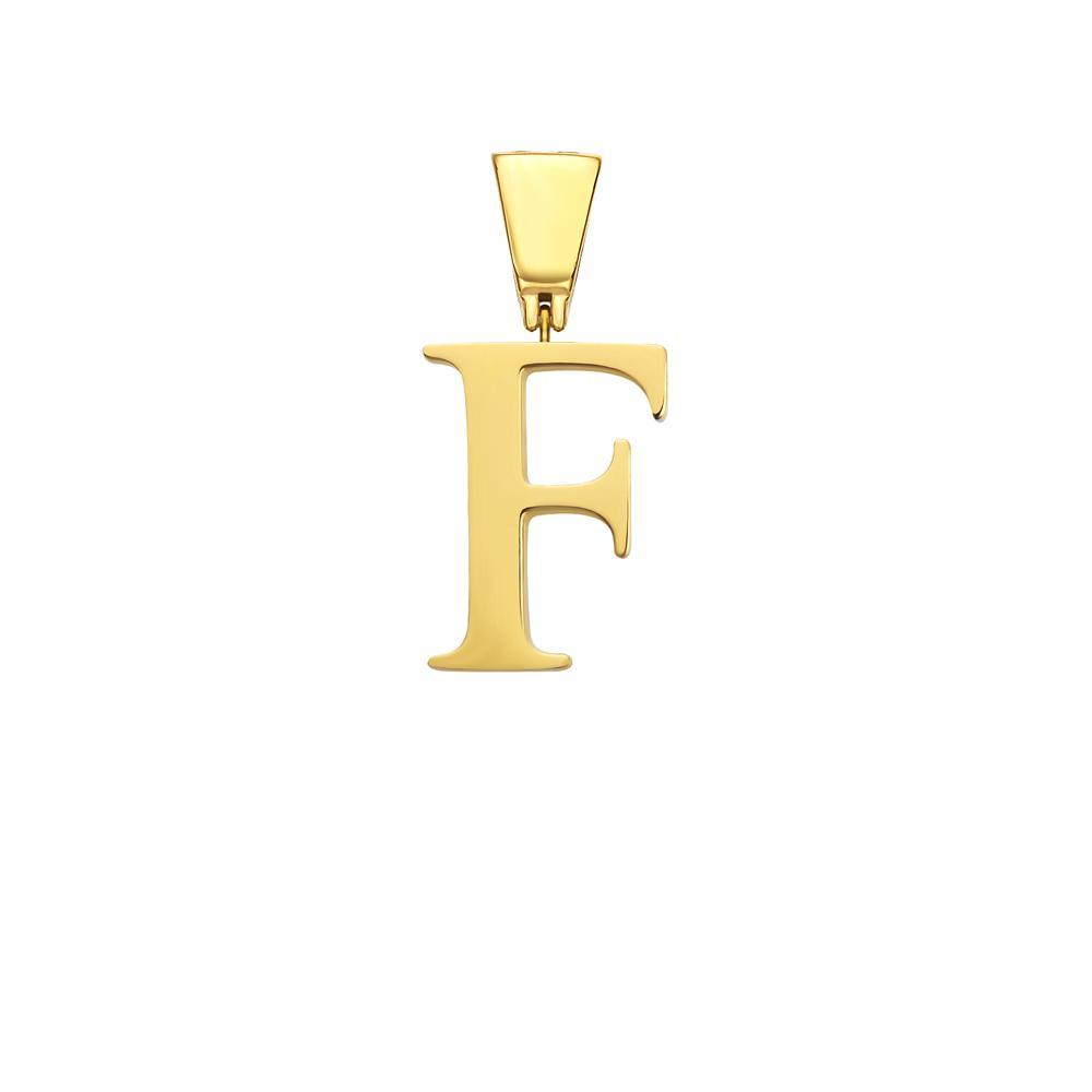 Mister Letter A-F Pendant - Gold - Mister SFC - Fashion Jewelry - Fashion Accessories