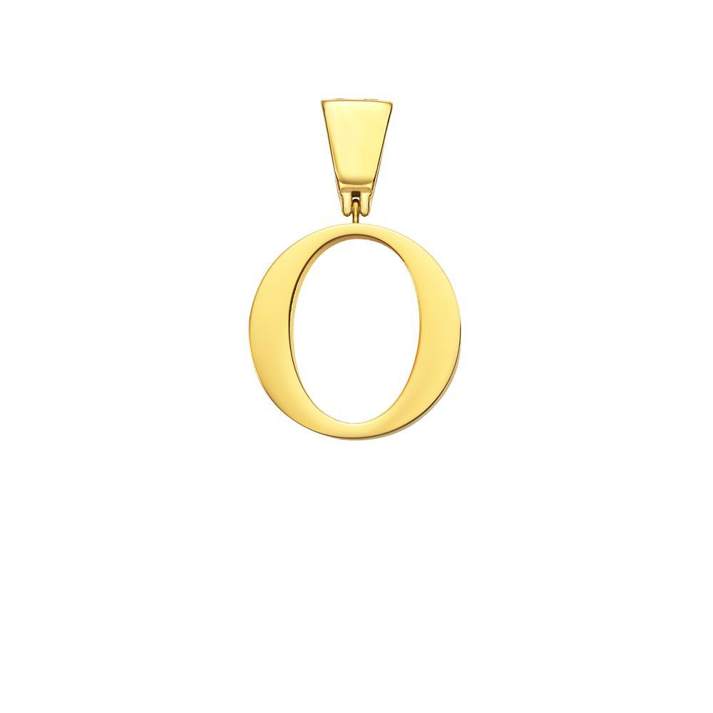 Mister Letter M-R Pendant - Gold - Mister SFC - Fashion Jewelry - Fashion Accessories