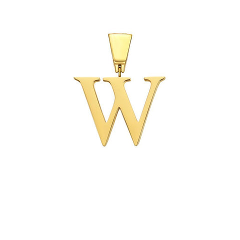 Mister Letter W-Z Pendant - Gold - Mister SFC - Fashion Jewelry - Fashion Accessories