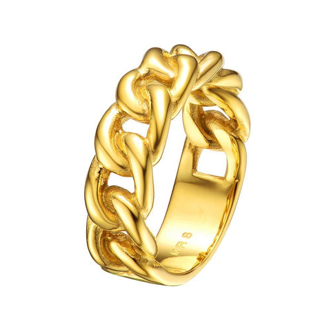 Mister  ID Ring - Gold - Mister SFC - Fashion Jewelry - Fashion Accessories