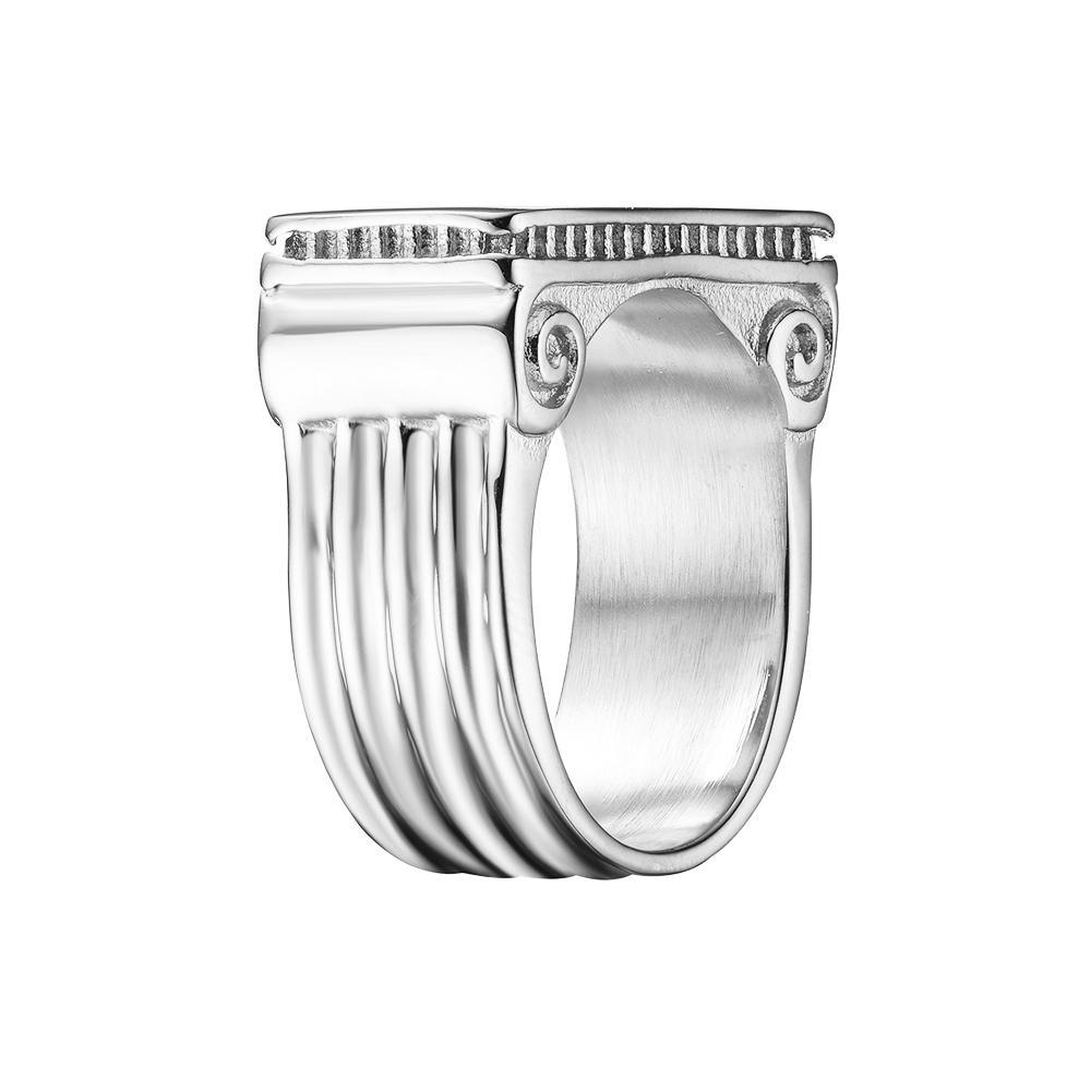 Mister Pillar Silver Ring - 925 - Mister SFC - Fashion Jewelry - Fashion Accessories