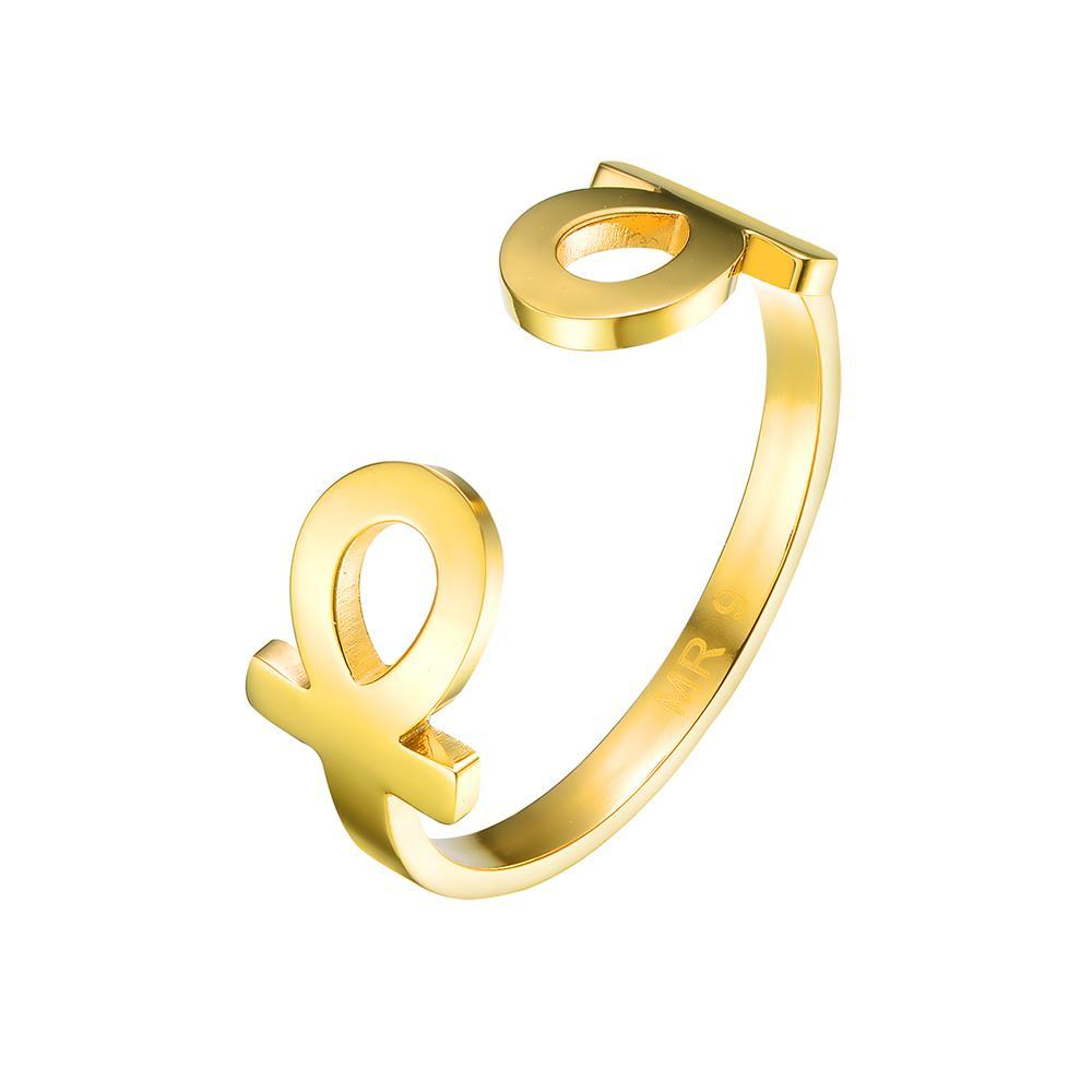 Mister Double Ankh Ring - Mister SFC - Fashion Jewelry - Fashion Accessories