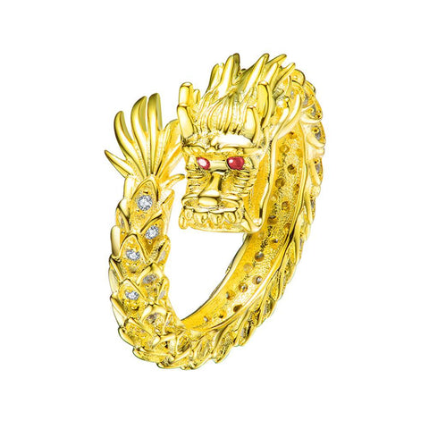 Mister Dragon Ring - 925 Gold - Mister SFC - Fashion Jewelry - Fashion Accessories