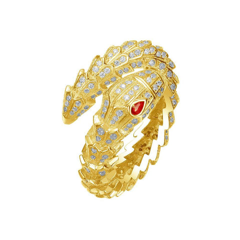 Mister Venom Ring - 925 Gold
