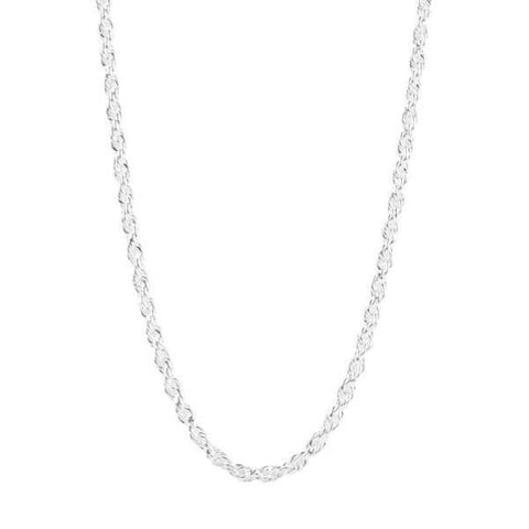 Mister Rope Silver Necklace - 925
