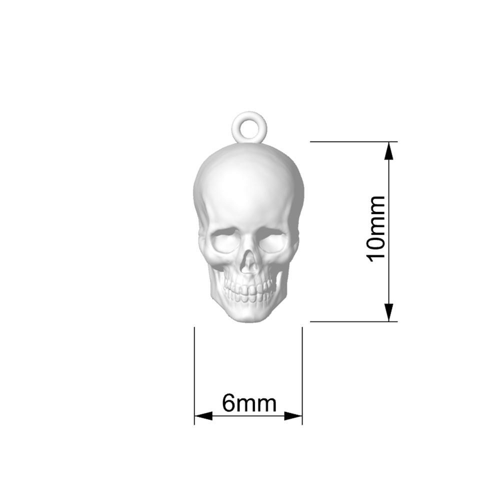 Mister Skull Charm - Mister SFC - Fashion Jewelry - Fashion Accessories