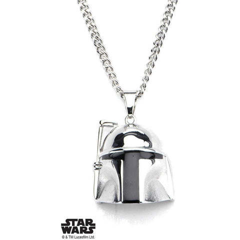 Star Wars Boba Fett Necklace - Chrome - Mister SFC - Fashion Jewelry - Fashion Accessories