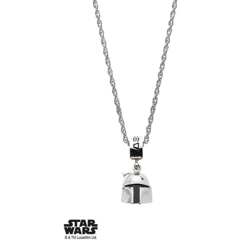 Star Wars Boba Fett V2 Necklace - Chrome - Mister SFC - Fashion Jewelry - Fashion Accessories