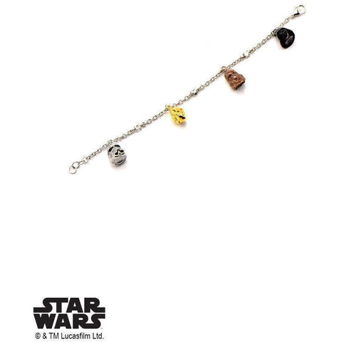 Star Wars Charm Bracelet - Chrome - Mister SFC - Fashion Jewelry - Fashion Accessories