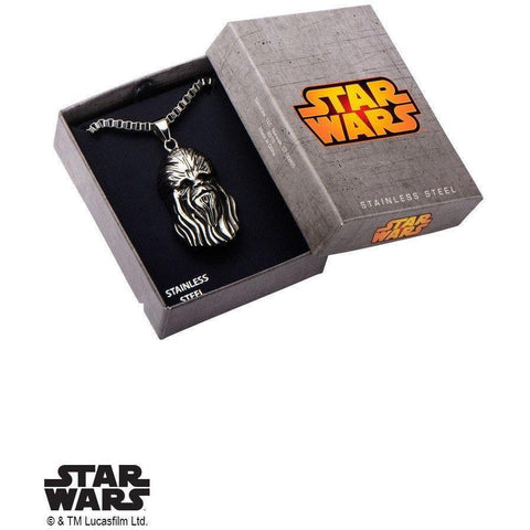 Star Wars Chewbacca Necklace - Chrome-NECKLACE-Mister SFC