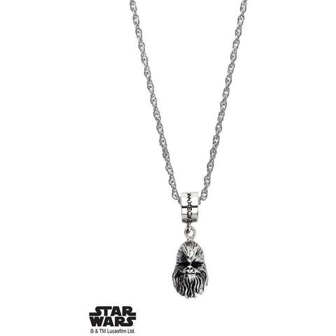Star Wars Chewbacca V2 Necklace - Chrome - Mister SFC - Fashion Jewelry - Fashion Accessories