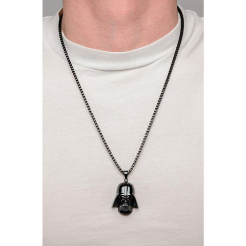 Star Wars Darth Vader Necklace - Black - Mister SFC - Fashion Jewelry - Fashion Accessories