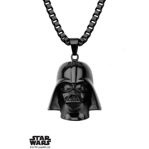 Star Wars Darth Vader Necklace - Black-NECKLACE-Mister SFC
