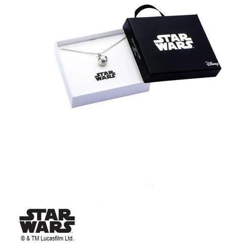 Star Wars Death Star Necklace - 925 - Mister SFC - Fashion Jewelry - Fashion Accessories
