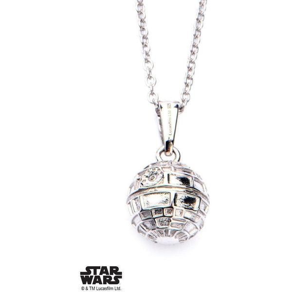 Star Wars Death Star Necklace - 925-NECKLACE-Mister SFC
