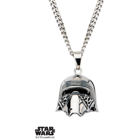 Star Wars Kylo Ren Necklace - Chrome - Mister SFC - Fashion Jewelry - Fashion Accessories