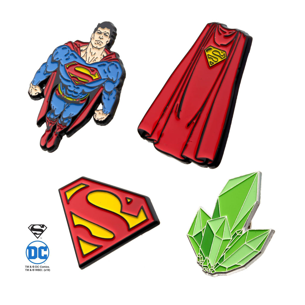 Superman Pin Enamel Set