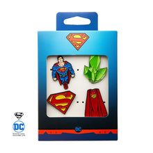 Load image into Gallery viewer, Superman Pin Enamel Set