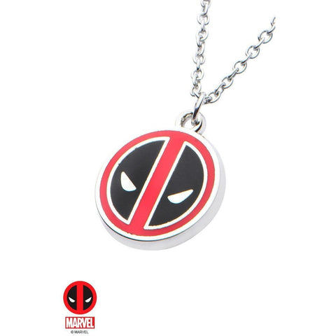 The Marvel Deadpool Necklace - Chrome - Mister SFC - Fashion Jewelry - Fashion Accessories