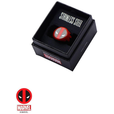 The Marvel Deadpool Ring - Black - Mister SFC - Fashion Jewelry - Fashion Accessories