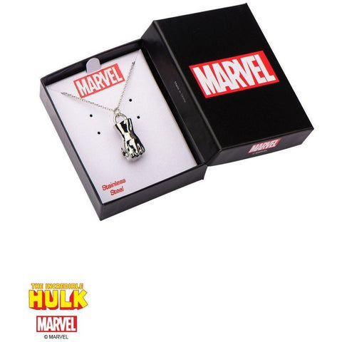 The Marvel Hulk Necklace - Chrome - Mister SFC - Fashion Jewelry - Fashion Accessories