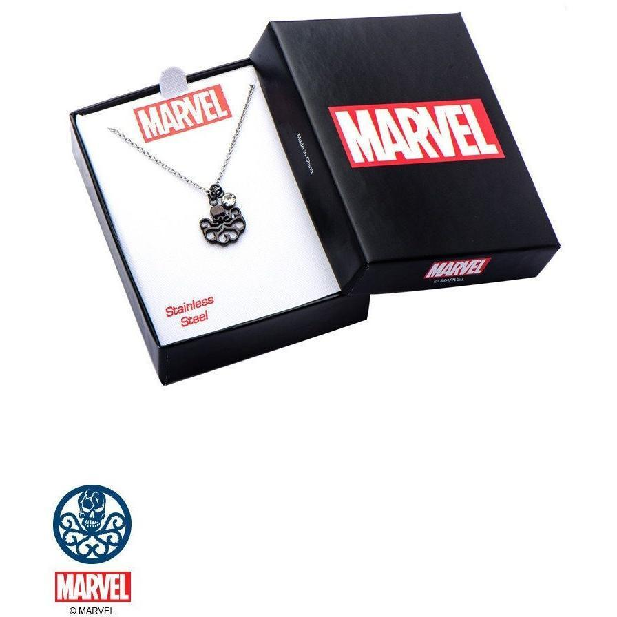 The Marvel Hydra Necklace - Black - Mister SFC - Fashion Jewelry - Fashion Accessories