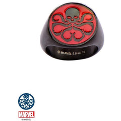 The Marvel Hydra Ring - Black - Mister SFC - Fashion Jewelry - Fashion Accessories
