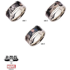 The Marvel Punisher Ring - Chrome - Mister SFC - Fashion Jewelry - Fashion Accessories