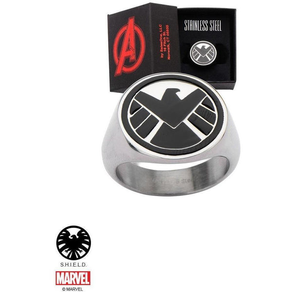 The Marvel S.H.I.E.L.D. Ring - Chrome-RING-Mister SFC