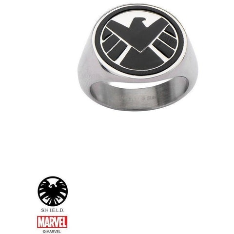The Marvel S.H.I.E.L.D. Ring - Chrome - Mister SFC - Fashion Jewelry - Fashion Accessories