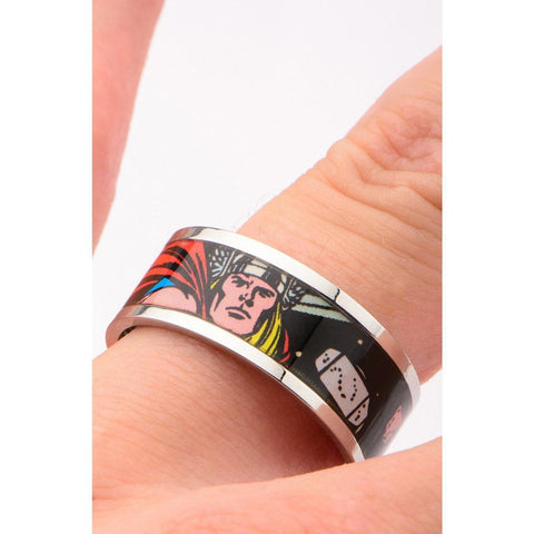 The Marvel Thor Ring - Chrome - Mister SFC - Fashion Jewelry - Fashion Accessories