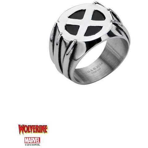 The Marvel XMEN Ring - Chrome - Mister SFC - Fashion Jewelry - Fashion Accessories