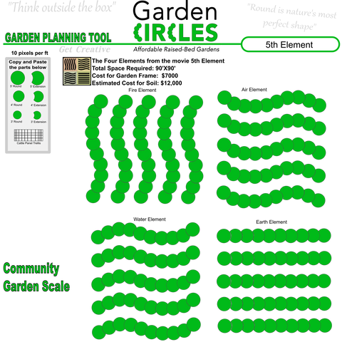 design your own - Garden Design Circles