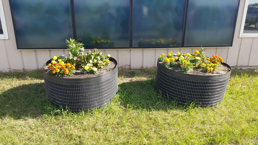 Garden circles affordable raised beds garden circles for Circular raised garden bed ideas