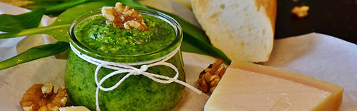Prebiotic Fiber Supplement - Prebiotic Food - Basil Walnut Pesto Recipe